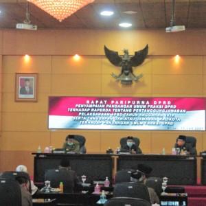 DPRD Kota Blitar Gelar Rapat Paripurna Pandangan Umum Fraksi Terkait Raperda APBD 2019