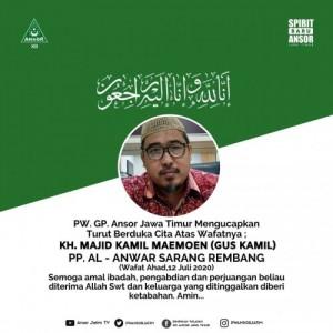 Sempat Status PDP, Kepala Dinkes Rembang Sebut Gus Kamil Meninggal karena Positif Covid-19