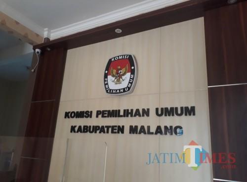 Lobby Kantor KPU Kabupaten Malang, Rabu (24/6/2020). (Foto: Tubagus Achmad/MalangTimes)