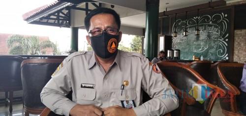 M. Satuki Sekretaris Gugus Tugas Penanganan Percepatan Covid-19 Kabupaten Jember (foto: Moh. Ali Makrus/ JatimTIMES)