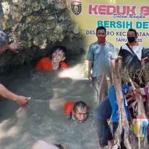Tradisi Unik Keduk Beji, Upaya Tolak Bala Warga Desa Dero Ngawi dengan Terjun ke Sendang