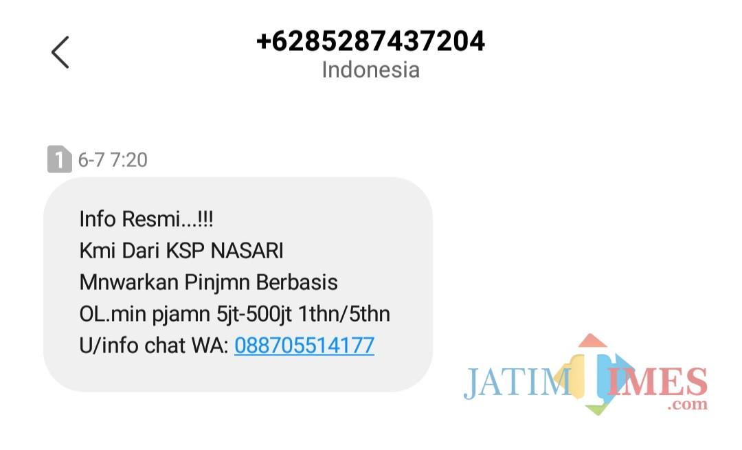 Ojk Malang Tangani 497 Pinjaman Online Berkedok Ksp Jatim Times