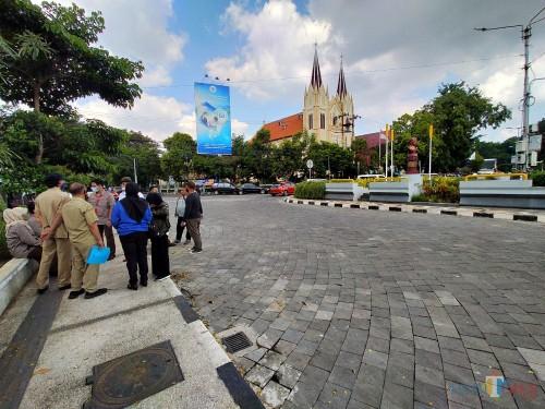 Lokasi proyek Kayutangan Heritage (Dok MalangTIMES)