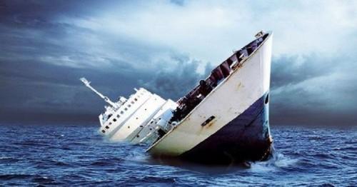 Foto ilustrasi kapal tenggelam. (Foto: Papua - iNews)