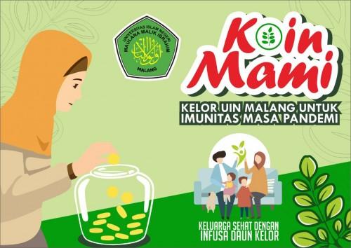 KOIN MAMI (Kelor UIN Malang untuk Imunitas Masa Pandemi). (Foto: istimewa)