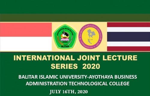 Join Lecture In Tourism Program digelar Unisba Blitar bekerjasama dengan kampus dari negara Thailand
