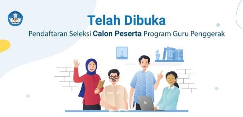 Pendaftaran calon guru penggerak (istimewa)