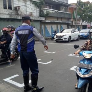 Di Titik-Titik Jalan Ini, Physical Distancing Diberlakukan untuk Kendaraan di Kota Batu