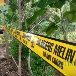 Polres Blitar Pastikan Pria Tewas di Wonotirto Bukan Korban Bunuh Diri