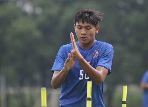 Pemain muda Arema FC, Titan Agung (official Arema FC)