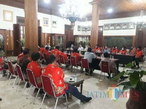 Silaturahmi AKD dengan Bupati Tulungagung di Pendopo / Foto : Suhardi / Tulungagung TIMES