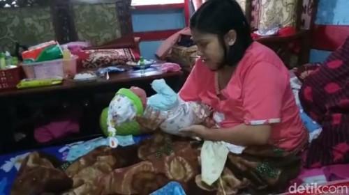 Ibu hamil cuma 1 jam langsung melahirkan (Foto: Detik.com)