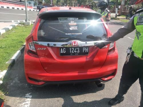 Polres Blitar Kota Amankan Pelajar Pelaku Aksi Drifting