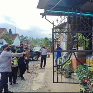 Agar Pasien Covid-19 Cepat Sembuh, Kapolres Malang Rajin Lakukan Kunjungan