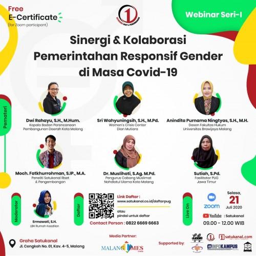 Pandemi Covid-19, Pembangunan Responsif Gender Tetap Jadi Kewajiban