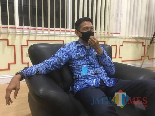 Sekda Kabupaten Malang, Wahyu Hidayat saat membahas soal kekosongan jabatan di pemerintahan Kabupaten Malang (Foto : Ashaq Lupito / MalangTIMES)