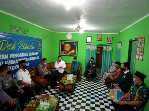 Terima Kunjungan Kapolres, PKB Kota Blitar Dukung Terwujudnya Kamtibmas di Gelaran Pilkada