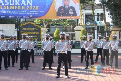 Kapolres Malang Gelar Pasukan Operasi Patuh Semeru (Humas Polres Malang for MalangTIMES)