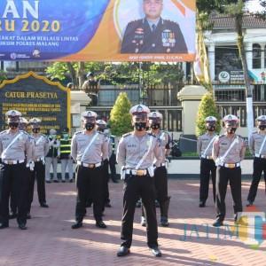 Kapolres Gelar Pasukan Ops Patuh Semeru: Ada 8 Sasaran Razia
