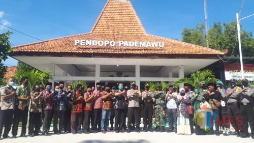 Cegah Penyebaran Covid-19, Ini Perintah Kapolres Pamekasan kepada Tiga Pilar Kecamatan Pademawu