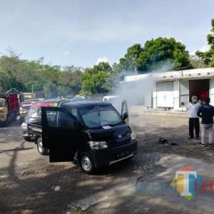 """150 Unit Kendaraan """"Diasap"""" Gratis di Uji Kir Talangagung"""