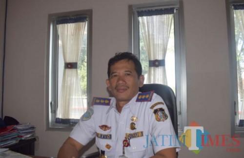 Kepala Dishub Kota Blitar Priyo Suhartono