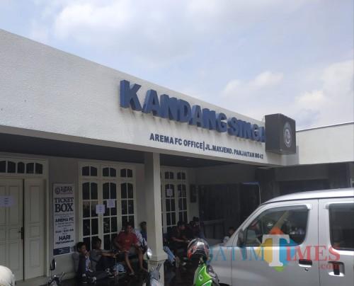 Kantor Arema FC atau bisa disebut Kandang Singa (Hendra Saputra)