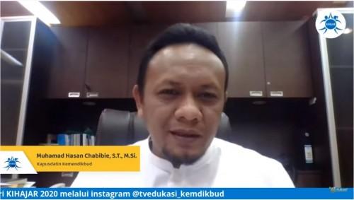 Kepala Pusdatin Kemendikbud Muhammad Hasan Chabibie. (Foto: Kemdikbud)