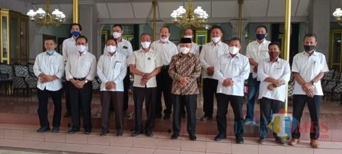 Suasana usai audiensi antara Pemkab Malang dan KONI Kabupaten Malang