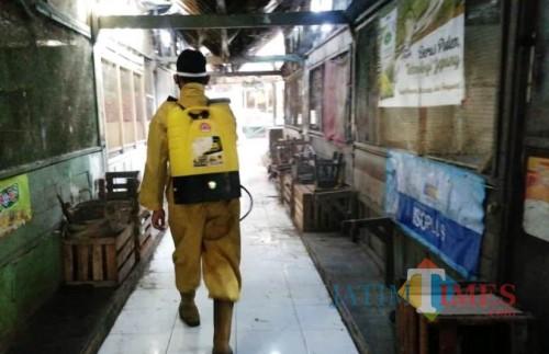 3 Pedagang Positif Covid-19, Penutupan Pasar Sutojayan Diperpanjang