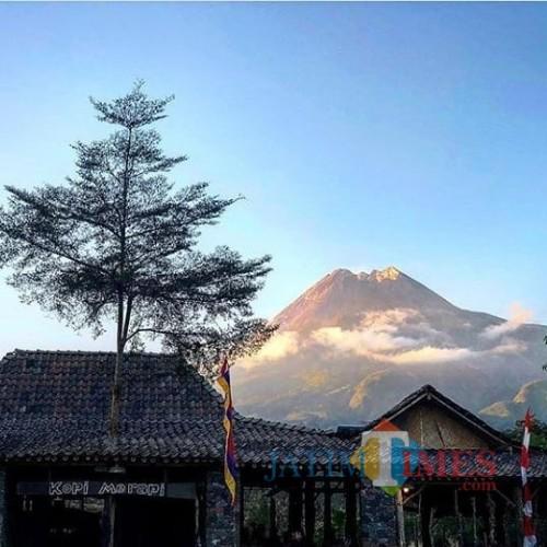 5 Warung Kopi di Kaki Gunung Api Merapi Ini Tawarkan Aesthetic Vibes Buat Pengunjung