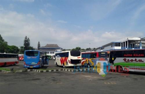 Terminal yang menyumbang pendapatan retribusi daerah di Kabupaten Malang. (istimewa)