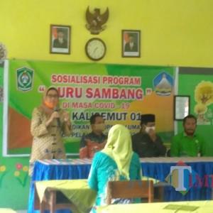 Bupati dan Wabup Lumajang Launching Program Guru Sambang Siswa