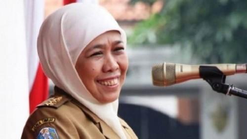 Gubernur Jawa Timur, Khofifah Indar Parawansa (Foto:  iNews ID)