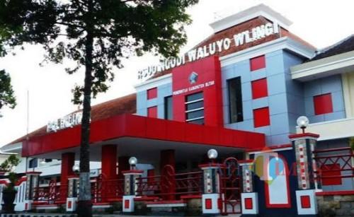 RSUD Ngudi Waluyo Wlingi (tampak depan)