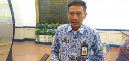 Sekda Kabupaten Malang, Wahyu Hidayat saat membahas perihal kekosongan jabatan di lingkungan pemerintahan Kabupaten Malang (Foto : Dokumen MalangTIMES)