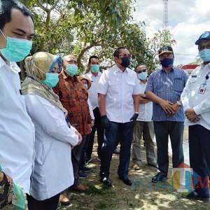 DPRD Jatim Sidak Plengesengan Sungai Molek, Sahat: Anggaran Siap Tinggal Administrasi
