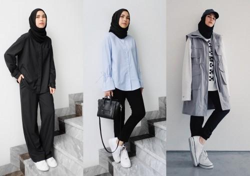 Warna hijab yang wajib dimiliki (foto:  Facetofeet.com)