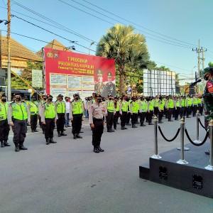 Cegah Takbir Keliling, 300 Personel Gabungan Amankan Malam Takbir Idul Adha