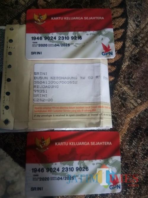 Dua KKS satu nama beda orang yang jadi polemik di Rejoagung (Foto : Mukhsin / Tulungagung TIMES)