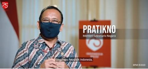 Video Jelang HUT Ke-75 RI, Masyarakat Diminta Berdiri Tegak 3 Menit pada 17 Agustus 2020
