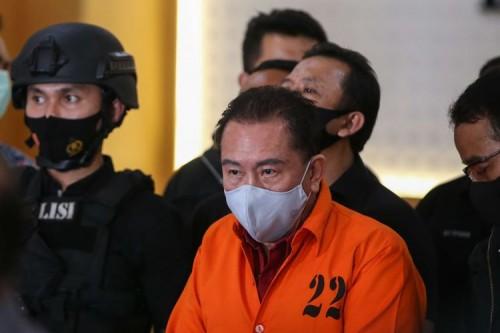 Djoko Tjandra resmi ditahan (Foto: Kompas.com)