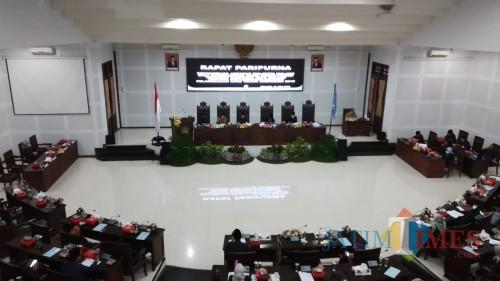 Sidang Paripurna Kota Malang (Pipit Anggraeni/MalangTIMES).