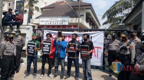 Mahasiswa Lamongan Melawan, Tuding Raperda RTRW Kabupaten Lamongan hanya Untungkan Investor