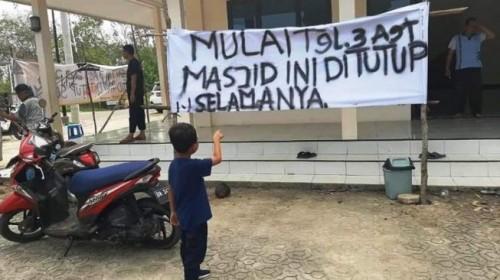 Kronologi Masjid di Pangkalpinang Ditutup Lantaran Beda Aliran, Polisi Turun Tangan!