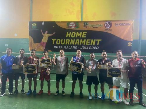 Para jawara Home Tournament PBSI Kota Malang (PBSI Kota Malang for MalangTIMES)