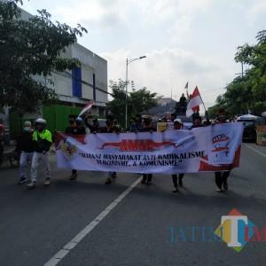 Ribuan Massa AMAR Demo di Tulungagung Tolak Munculnya Gerakan Radikalisme