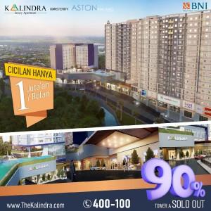 Tawaran Spesial Apartemen The Kalindra, DP 10% Cicilan 1 Juta-an Harga Mulai Rp 300 Juta