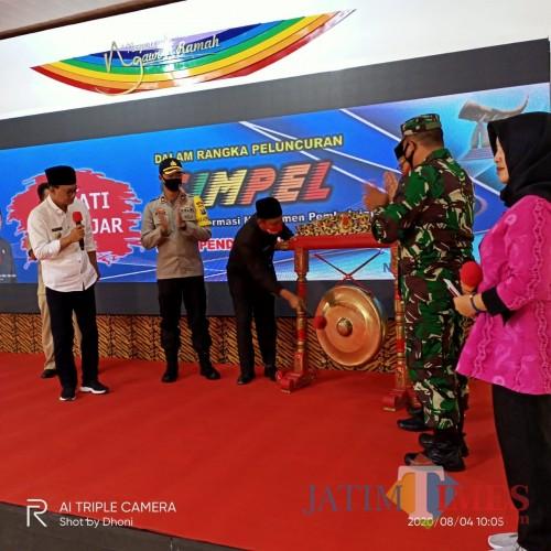 Foto Acara peluncuran aplikasi SIMPEL
