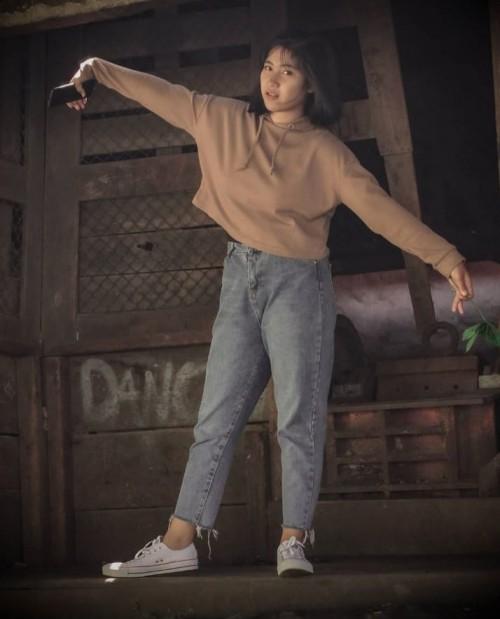 Intip Gaya Gadis Tulungagung Dhea Lukita Andriana, Paskibraka Nasional 2019-2020